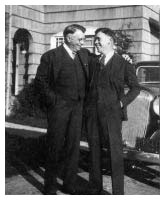 Founder Sam with son Cliff